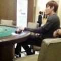 Làng sao - Lộ ảnh Lee Min Ho đánh bài tại sòng bạc