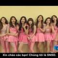 SNSD làm clip gửi lời chào fan Việt