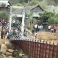 Tin tức - Video: Đứt cầu treo tại Lai Châu, 7 người thiệt mạng