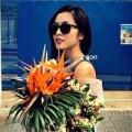 Làng sao - Tăng Thanh Hà thảnh thơi dạo phố