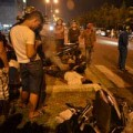 Tin tức - Thai phụ khóc than bên xác chồng tử nạn