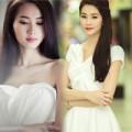 """Thời trang - HH Đặng Thu Thảo - """"Thiên thần"""" váy trắng"""