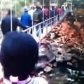 Tin tức - Xuất hiện thêm video về vụ sập cầu ở Lai Châu
