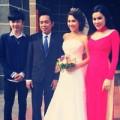 Làng sao - Chị gái Hoàng My hạnh phúc ngày rước dâu