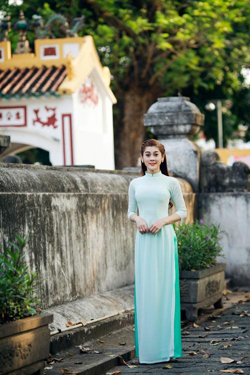 my nhan chuyen gioi duyen dang vói ta áo dài - 7