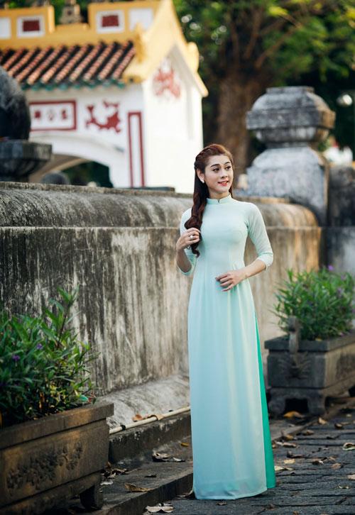 my nhan chuyen gioi duyen dang vói ta áo dài - 9