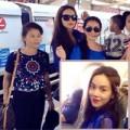 Làng sao - Hà Hồ đưa mẹ và Subeo đi du lịch Thái Lan