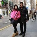 Làng sao - Minh Tiệp tình cảm bên vợ trẻ ở Hàn Quốc