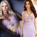 """Thời trang - Hồ Ngọc Hà """"đụng"""" váy hiệu với Lady Gaga"""