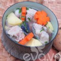 Bếp Eva - Canh khoai tây nấu sườn nóng hổi
