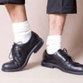 Thời trang - Giày Tây - tất trắng cũng phải triết lý?