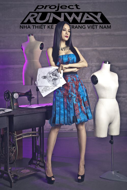 truong ngoc anh tro thanh host project runway 2014 - 1