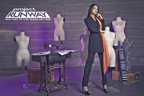 truong ngoc anh tro thanh host project runway 2014 - 5