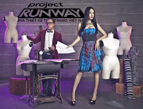 truong ngoc anh tro thanh host project runway 2014 - 6