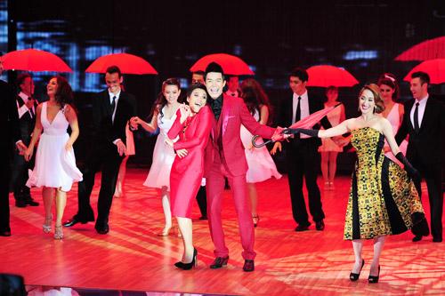 Cơn mưa nước mắt ở Bước nhảy Hoàn vũ liveshow 8-1