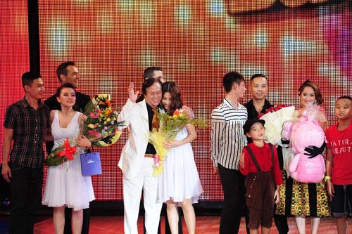 Cơn mưa nước mắt ở Bước nhảy Hoàn vũ liveshow 8-2