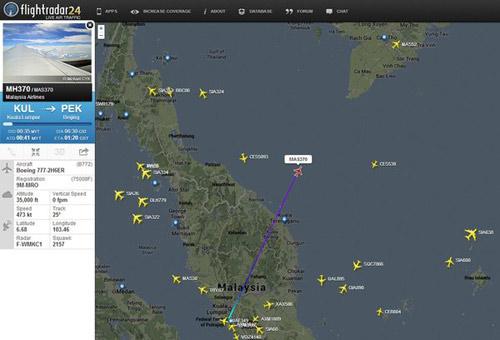 FBI vào cuộc điều tra vụ máy bay Malaysia mất tích - 1