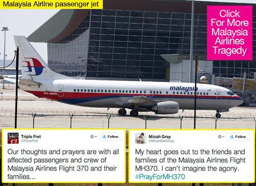 Cả thế giới cầu nguyện cho chiếc máy bay mất tích - 1