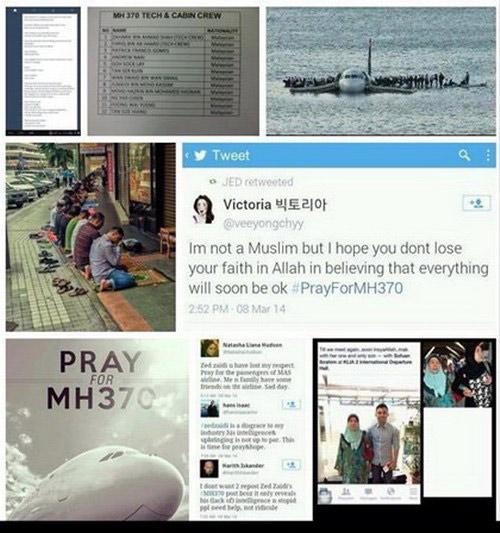 Cả thế giới cầu nguyện cho chiếc máy bay mất tích - 9