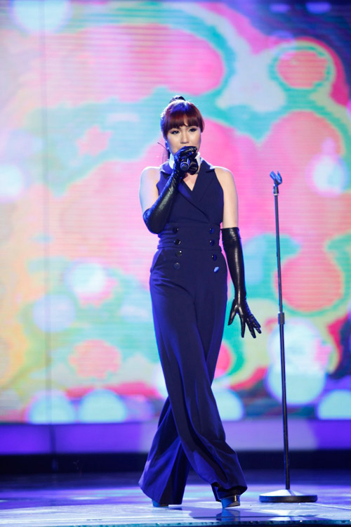 """vn idol: nhat thuy tro thanh """"con ac mong"""" - 7"""