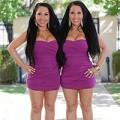 Làm đẹp - Cặp sinh đôi thẩm mỹ giống hệt nhau