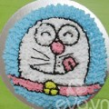 Bếp Eva - Tự tay làm bánh sinh nhật hình Doremon