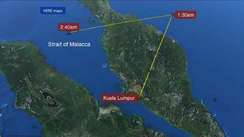 malaysia: thay tin hieu may bay la gan thai lan - 1