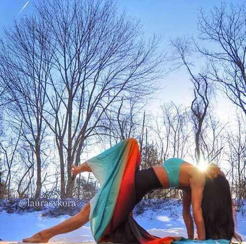 me 2 con dang dep hon mau nho yoga - 8
