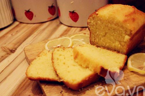 Bánh bông lan bơ hương chanh thơm nức - 16