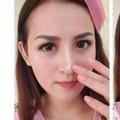 Làm đẹp - Sửa mũi to bằng kiểu tóc và trang điểm