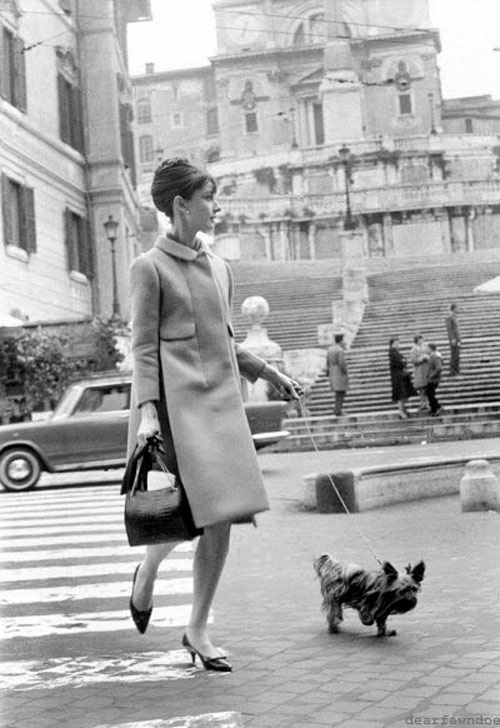loat anh street style quy gia cua audrey hepburn - 10