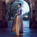 Làng sao - Hoa hậu quý bà châu Á đằm thắm ở Đại nội Huế