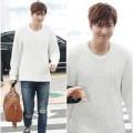 Làng sao - Lee Min Ho tóc tai rối bù ra sân bay