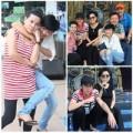 """Làng sao - Cát Phượng, Phương Thanh """"đội nắng"""" tập show"""
