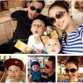 Làng sao - Nhóc Bảo Nam đi  Suối Tiên cùng gia đình