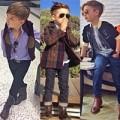 """Thời trang - Street style gây """"sốt"""" của cậu nhóc 6 tuổi"""