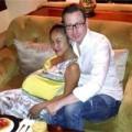 Làng sao - Đoan Trang bụng bầu vượt mặt trước khi sinh