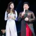 Làng sao - Kim Dung tự tin trổ tài ăn nói bên Quang Lê