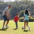 Sức khỏe - Tập cho trẻ làm quen với thể thao