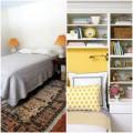 Nhà đẹp - Cải tạo phòng ngủ tông vàng nữ tính