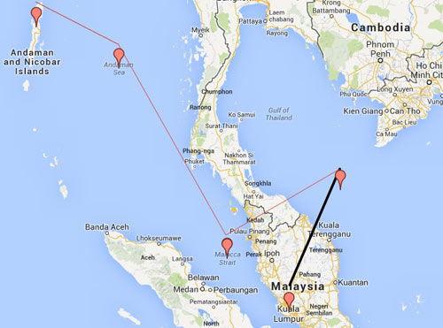 hanh trinh ky la cua may bay mh370 - 3