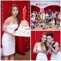 Làng sao - Khánh Thi mừng sinh nhật như tiệc... thôi nôi