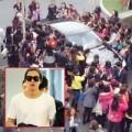 Làng sao - Lee Min Ho phát hoảng vì bị chặn giữa đường