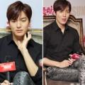 Làng sao - Lee Min Ho điệu đà trong buổi họp báo