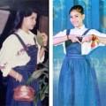 Làng sao - Trương Thị May mặc lại váy của mẹ