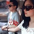 Làng sao - Lam Trường nắm chặt tay vợ 9x trên xe