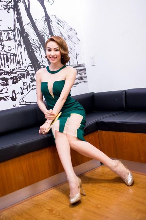 """ngan khanh: """"ap luc khi the vai diem huong"""" - 4"""
