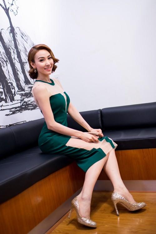 """ngan khanh: """"ap luc khi the vai diem huong"""" - 5"""