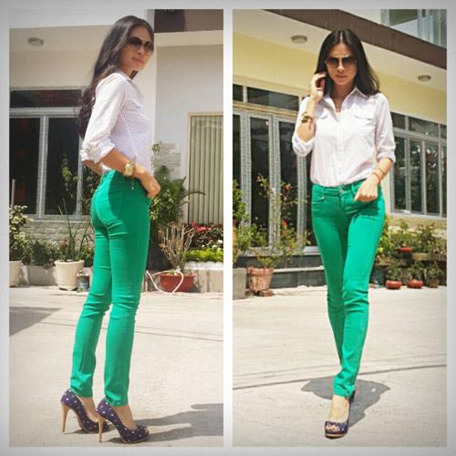 my nhan lo dang xau vi quan jeans - 9