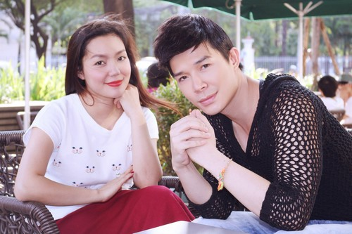 """ngoc anh """"co con"""" voi nathan lee sau chinh phuc dinh cao - 1"""